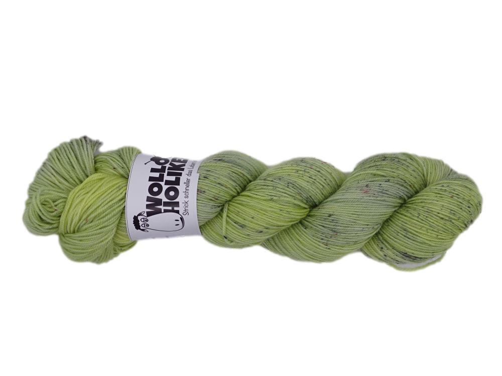 Merino High-Twist *Salzwiese*. Wolle kaufen Bremerhaven, handgefärbte Wolle