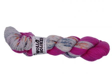 Plüschmoors *Zuckerschnecke*. Wolle kaufen Bremerhaven, handgefärbte Wolle
