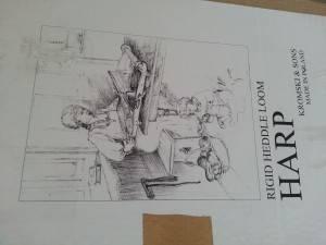 Und da ist sie, die meine, für immer und ewig: Kromski Harp