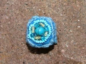 """Ein weiterer Ring aus meiner """"blauen Phase"""""""