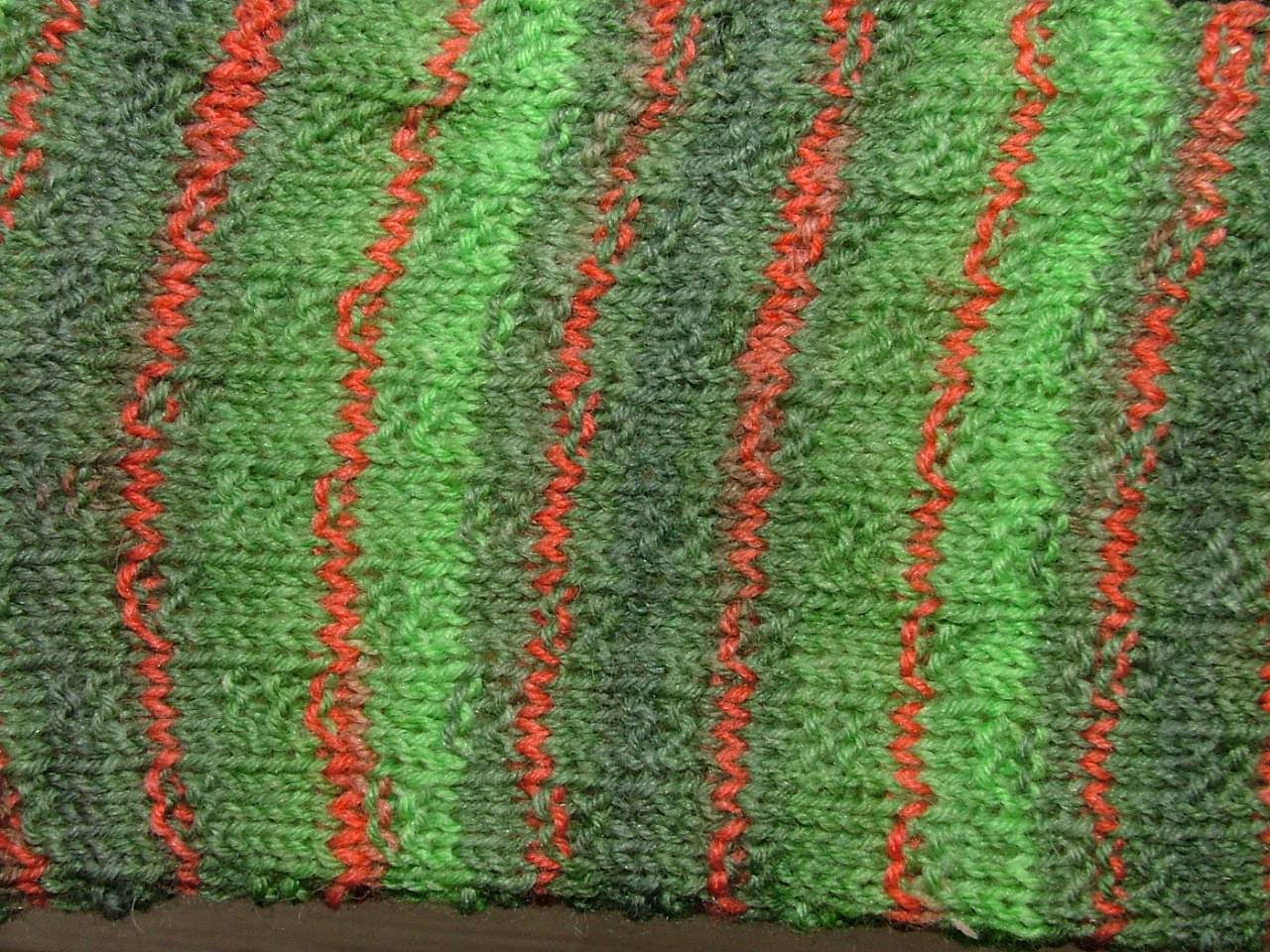 das rechts links muster kleine leiter etwas dichter fotografiert - Muster Fur Socken
