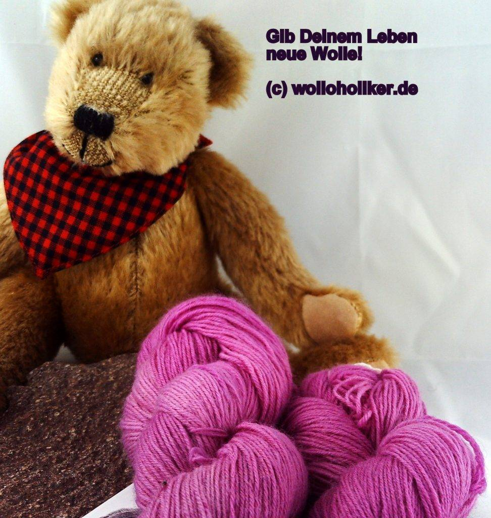 Wolloholiker Bremerhavens erste Handfärberei